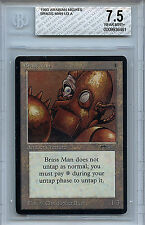 MTG Arabian Nights Brass Man BGS 7.5 NM+ Card Magic the Gathering WOTC 6461