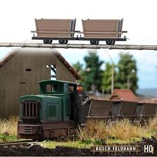 Busch 12201; 2 Gate Floren with Holzaufbau Field Mine Railway H0f Nip