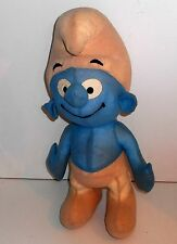 """Vintage 1970's / 80's  Peyo - SMURF - 18"""" Plush Toy by Cleve of Munchen (A6)"""