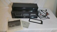 Technics Stereo Double Cassette Deck RS-TR157 AND ST-S98A AM/FM Stereo Tuner