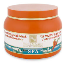 H&B Carrot Oil & Mud Treatment Hair Mask Enriched With Keratin/Dead Sea Mud- NEW