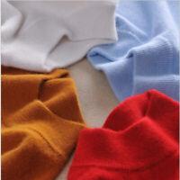 Elasticity Women's Slim Knitted Turtleneck Cashmere Jumper Pullover Sweater Warm