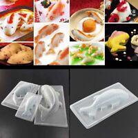 3D Koi Fish Plastic Cake Chocolate Jelly Sugarcraft Mold DIY Cake Baking Tools