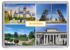 Madrid, Spain Fridge Magnet 02