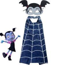 child girl Halloween costume dress up cape & mask VAMPIRINA inspired