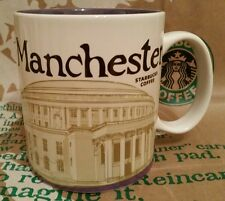ORIGINALE Starbucks CITY MUG/TAZZA Manchester/Inghilterra, Global Icon, nuovo M. sticker!