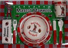 Ohio State University Baby Dinnerware set with Plates Utensils Cup Placemat