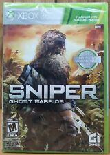 Sniper – Ghost Warrior (Xbox 360, 2012, GI) *NEW T