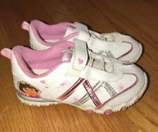 NICK JR Dora The Explorer & Boots Monkey Athletic Sneakers Girls Shoes Size 11 #