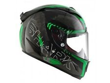 casque casco helmet intégral SHARK RACE R PRO CINTAS BLACK KGA taille  XL 61 62