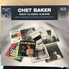 Chet Baker ‎– Deluxe Edition,Eight Classic Albums on 4 CD'S BOX SET-JAZZ LOUNGE