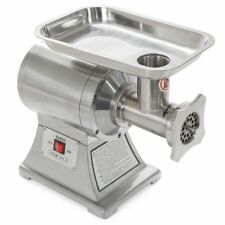 Commercial Stainless Steel 1HP Meat Grinder Blade Plate Sausage Stuffer FDA 12#