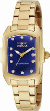 Invicta Lupah 16284 Women's Navy Blue Analog Tonneau Stainless Steel Watch