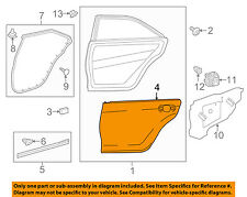 TOYOTA OEM 15-16 Camry-Door Skin Outer Panel Right 6711306150