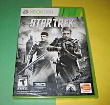 Star Trek (Microsoft Xbox 360, 2013) NEW Factory Sealed Y-Fold Authentic