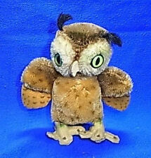 Vintage German Steiff Owl without Bitton #Bw