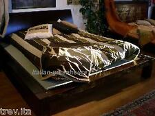Letto Giapponese futon in legno  +TESTIERA 140x200 matrimoniale francese