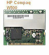 HP COMPAQ Mini PCI Wireless Adaptor Laptop Minipci W500