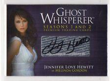 Ghost Whisperer Season 1 Autograph card Jennifer Love Hewitt Auto GA1 GA-1
