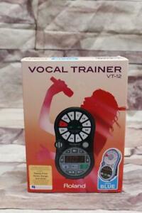 Roland Vocal Trainer VT-12 AQUA BLUE Pocket Coach Singer Singing Pitch Music
