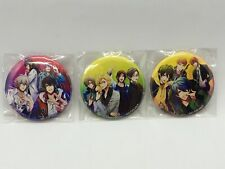 (hp20)Hypnosis Mic Division All Stars Can Badge Set of 3 approx. 55mm 2.17inch