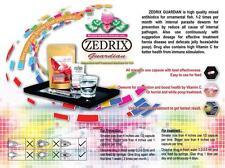 ZEDRIX GUARDIAN flowerhorn treatment white poop, hexamita, desinfectant, worms