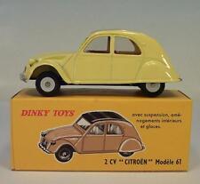 Dinky Toys (Atlas) 1/43 Nr.558 Citroen 2 CV Modele 61 Ente Neuauflage OVP #9470