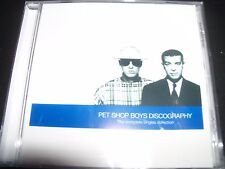 Pet Shop Boys Discography The Complete Singles Collection Australia Best Of CD