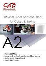 Acetate 220 micron A2 420 x 594mm