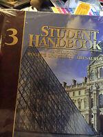 Student Handbook Vol 3 Including Roget's University Thesaurus -----new!