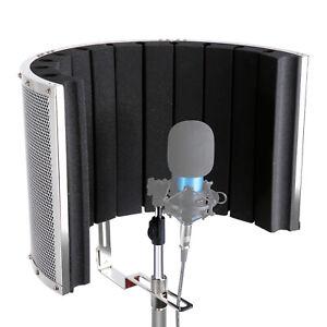 Neewer Mikrofon Isolierung Schild Absorber Stimm Isolierung Filter Stand