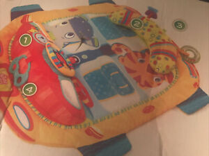 Colorful Bright Starts Tummy Cruiser/Prop Mat (NEW) Easy to store away.  FUN!