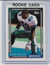 DARREN WOODSON 1992 TOPPS RC ROOKIE CARD DALLAS COWBOYS