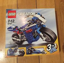 LEGO CREATOR 6747 set : 3 IN 1 RACE RIDER MOTORBIKE CHOPPER DRAGSTER