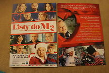Listy do M 2 (2015)  Polish promo FLYER