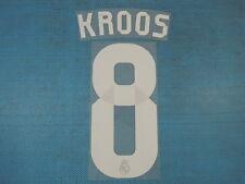Spanish La Liga 2014-2015 Real Madrid #8 Kroos Awaykit NameSet Printing