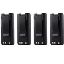 4x 7.2V 1650mAh Ni-MH Battery for ICOM BP-209 BP-210 BP-222 IC-V82 IC-U82 IC-V8