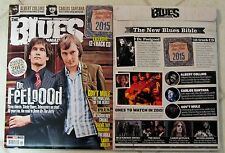 BLUES Magazine + 12 Track CD DR. FEELGOOD Gov't Mule ALBERT COLLINS #18 Vaughan