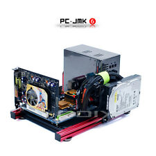 Mini ITX Aluminum Computer Case Chassis Tester Wide Open Nude Bare Frame PC-JMK6