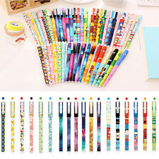 Watercolor Pen Gel Pens Set Color Stationery School Office Supply 6 PCS Set New
