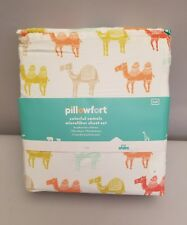 Full Size Sheet Set 4 Piece Set Pillowfort Colorful Camels Animals Kids New