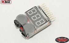 LiPo Battery Busser Alarm Voltage Tester 1 - 8s LiPos SMALL 4WD VVV-E0001