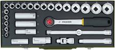 Proxxon Profi Steckschlüsselsatz 1/2, 29-tlg 23000