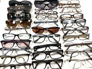 Lot 30 Pair Kors Versace Armani DKNY Valentino Burberry Rx Eyeglasses Frames