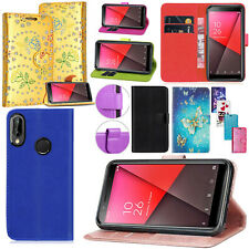 New Vodafone Smart N8 Luxury Leather Wallet Book Phone Case Cover