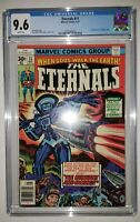 NM+ Eternals #11 CGC 9.6 White Pages. Movie Key Issue with Four 1st Appearances!