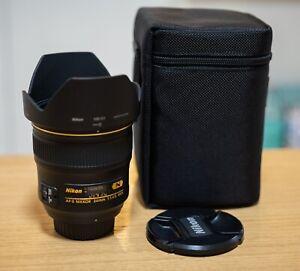 【Mint】 Nikon AF-S Nikkor 24mm f/1.4 G ED N Auto Focus Wide Angle Lens AU stock