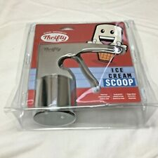 Thrifty Ice Cream Scoop New in Package Stainless Steel Cylinder Trigger Rite Aid