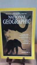 National Geographic Magazine Nat Geo August 1989(NG29)