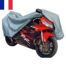 Housse Bâche MOTO Couvre-Moto Vélo VTT Scooter Taille L 230cm Gris Imperméable